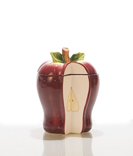 Red Apple Fruit Country candy Jar (Apple Jar Storage)