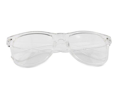 [BONAMART ® Fashion Style Unisex Clear Lens Frames Sport Nerd Sun Glasses] (80s Fashion For Men)