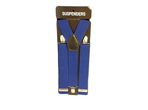 de 35 y Unisex color de Tirantes azul de Elasticidad ancho ajustable hombres mm para claro ne 4dwwPzqS