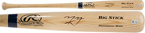 Manny Machado Baltimore Orioles Autographed Blonde Big Stick Bat - Fanatics Authentic Certified - Autographed MLB (Big Stick Mlb Bat)