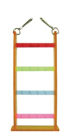 Vo-Toys Acrylic Four Step Ladder Bird Toy