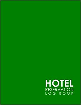hotel reservation log book booking system reservation book