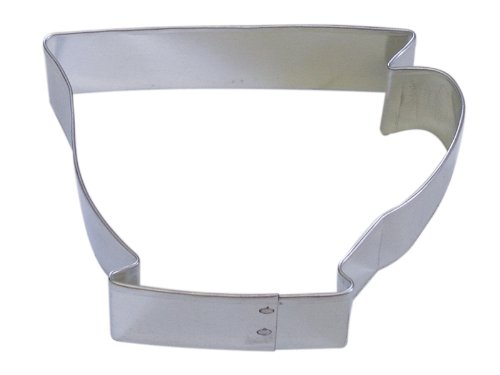 "R&M Teacup 3"" Cookie Cutter in Durable, Economical, Tinplated Steel"