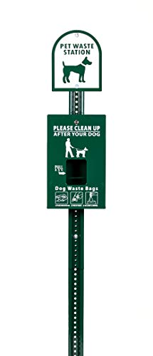 (ZW USA Inc ZeroWasteusa Mini Dog Waste Station with ONEpul Bag System)