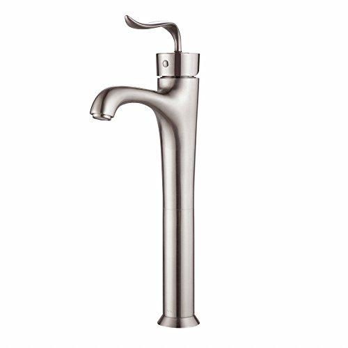 UPC 846639023733, Kraus FVS-13800BN Coda Single Lever Vessel Bathroom Faucet, Brushed Nickel