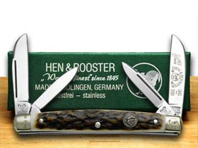Hen and Rooster Genuine Deer Stag Congress 1 1 1 165 Pocket Knife Knives B00MP1CHMQ     | Qualitativ Hochwertiges Produkt