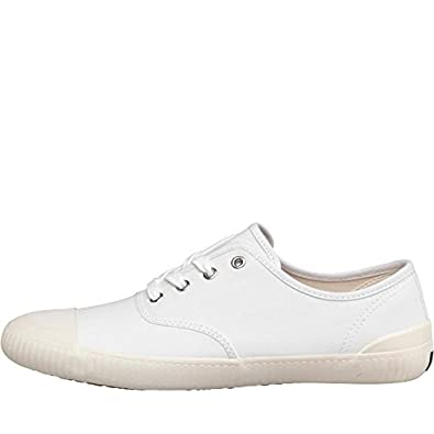 4620a95e6fb Fred Perry Wardour Twill Plimsolls Trainers Pumps Casual Shoes White  B9261-100 (10 UK