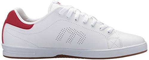 Etnies CALLICUT LS - Zapatillas de skateboarding para hombre Blanco blanco y rojo