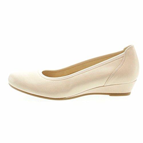 de Gabor Vestir Rose Piel para Lisa Zapatos Mujer de TTxS6