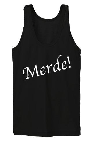 Merde Tanktop Girls Noir