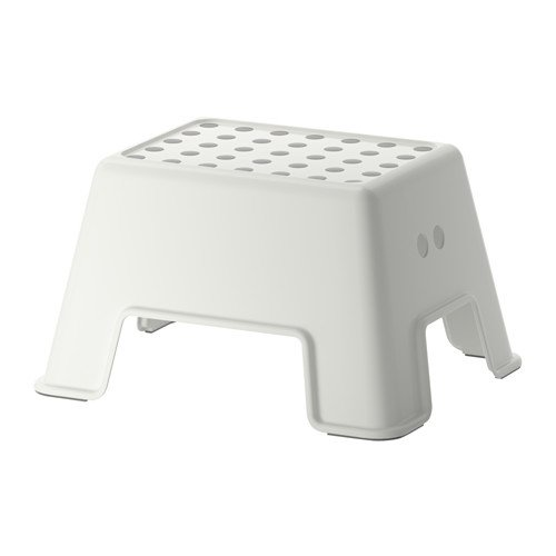 IKEA Step Stool, White
