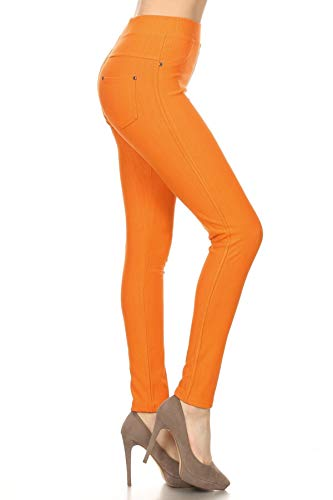 Jeggings Orange - Dimple Range