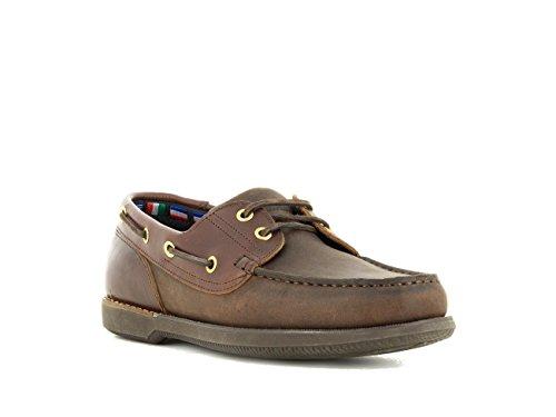 de Zapatos para Hombre Marrón EU Color Náuticos Cordones con 39 avHFv5Wx