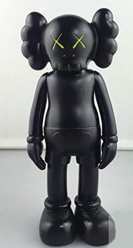 FidgetGear 1pc 8 Inch Originalfake KAWS Dissected Companion Figure Without Original Box 3PC Black from FidgetGear