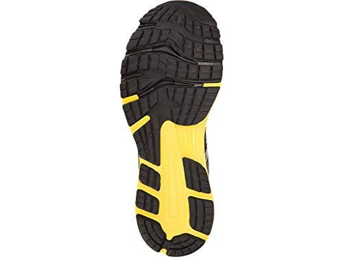 ASICS Men's Gel-Nimbus 21 Running Shoes, 7M, Black/Lemon Spark by ASICS (Image #3)
