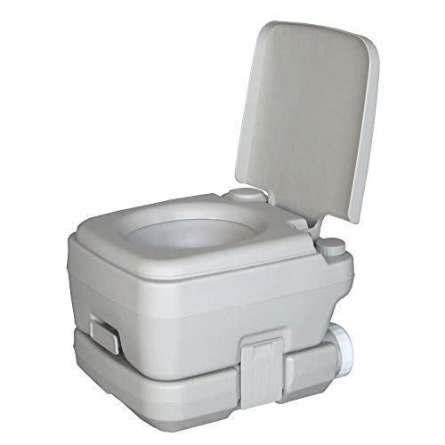 Toilet Portable Flush Water Closet Travel Vehicle Potty Indoor Garden Camping Bedroom Waste Tank 10 Liters Water Tank 10 - Holding 2.8 Tank Gallon