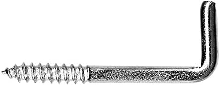 Wurko 175726 Alcayatas con Rosca 18 x 50 mm
