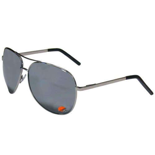 Siskiyou NFL Cleveland Browns Aviator Sunglasses