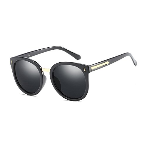 Sol Sol de frame Flechas Antideslumbrante de Gafas Modelos Black Explosión los Película UV Protección la UV para de Gafas gray Polarized Ojos Hombres Decoración Sra Color de HLMMM gxwUFqSEg