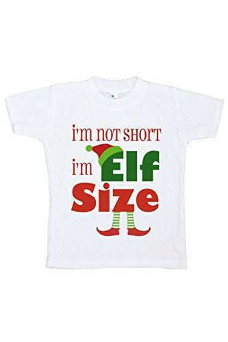 Custom Party Shop Kids Funny Elf Size Christmas T-shirt 2T