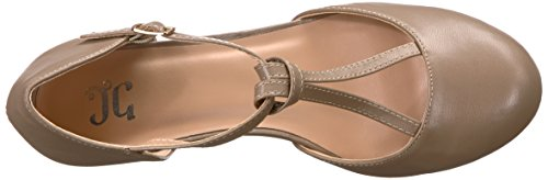 Brinley Co Womens Tale Pompon Taupe