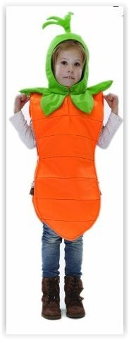 Kids Carrot Fancy Dress Costume 3-7 Years by Pretend to Bee