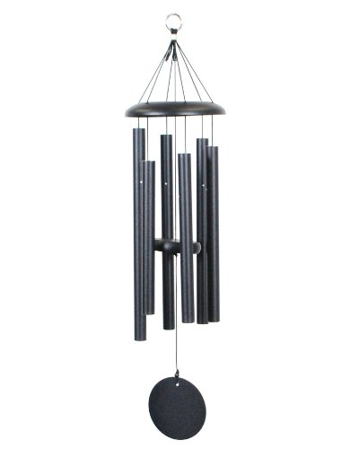 Corinthian Bells 29-inch Windchime, Black (Copper Chimes Wind Make)