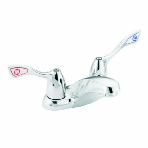 Moen 8800 Commercial M-Bition 4-Inch Centerset Lavatory Faucet 1.5 gpm, Chrome (Centerset Chrome Faucet Lavatory)