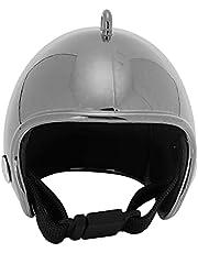 Helmen, Kip Helm Multifunctionele Vogels Hoed voor Vogel voor Kip voor Eend voor(Verblind zwart)