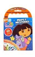 Download Dora The Explorer Color-N-Carry: Maps & Mysteries PDF