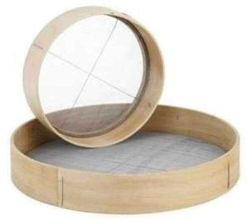 ROY WS 12 -Royal Industries Flour Sieve, Wood, 12'' diam, Tan, Commercial Grade by Royal Industries