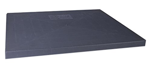 (Diversitech EL3636-2 E-Lite Plastic Condensing Unit Pad, 36x36x2