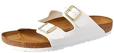 Birkenstock Unisex Adults' Arizona Sandals, Pink, 43 EU