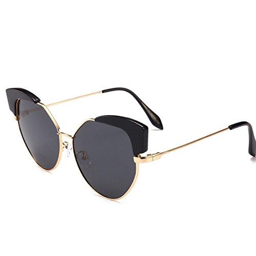 088b6ca0a9 ANHPI Gafas De Sol Polarizadas Moda Para Mujer De Metal Cómodo Protección  Solar Protección UV Gafas