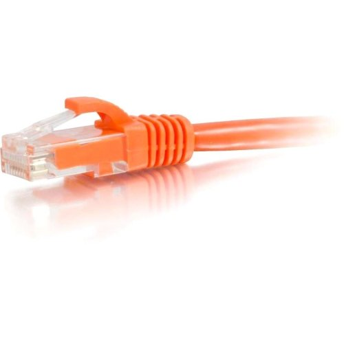 Network Patch Cable Orange Product Type: Hardware Connectivity//Connector Cables Category 5E For Network Device 45 Male Rj 45 Male Utp 15Ft Cat5e Snagless Unshielded 15Ft Orange Rj