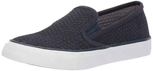 Sperry Women's Seaside Emboss Sneaker, Navy, 8 M US