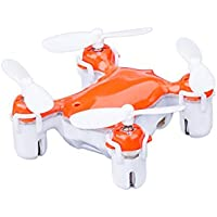 Intcrown Nano Quadcopter Mini Drone with Intelligent Fixed Altitude and 3D Flip Function