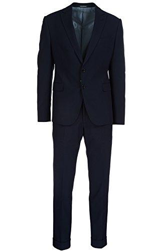 Armani Suit (Emporio Armani Men's Suit Original Blu US Size 50 (US 40) W1VMALW1522926)