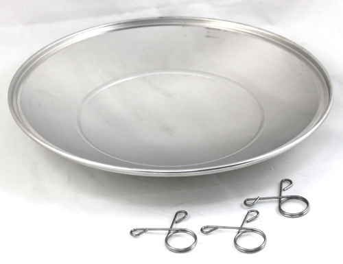 Weber 80681 13-1/2'' Diameter Ash Catcher Pan For 22'' Kettle Grill by Weber