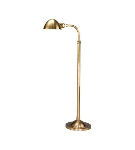 Robert Abbey 1905 One Light Floor Lamps with Metal Shades, 57