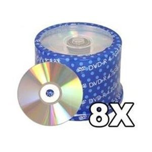500 Spin-X 8X DVD-R 4.7GB Shiny Silver by SpinX