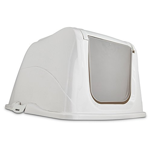 So Phresh Flip Top Cat Litter Box Hood in White, X-Large ()