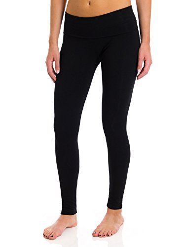 T Party Folded Band Legging, Black, Small]()