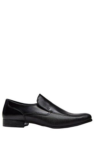 next Hombre Zapatos De Vestir Paneles Textura Negro