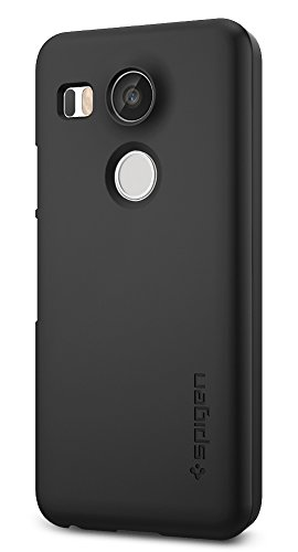 Price comparison product image Spigen Thin Fit Nexus 5x Case with Premium Matte Finish Coating for Nexus 5x - Black