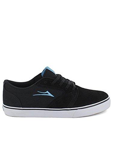 Chaussures De Skate Homme Lakai Black/Cyan Suede Taille 37