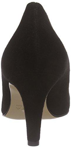 Schwarz para Zapatos Shoes 10 Negro Mujer con Pump de Evita Cerrada Punta Tacón 8PSqwAw