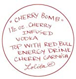 Lolita Love My Martini Glass Cherry Bomb New