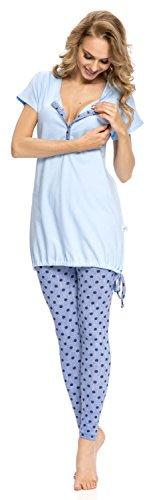 Blau Set Donna Coordinato dn nightwear wITqpPn1