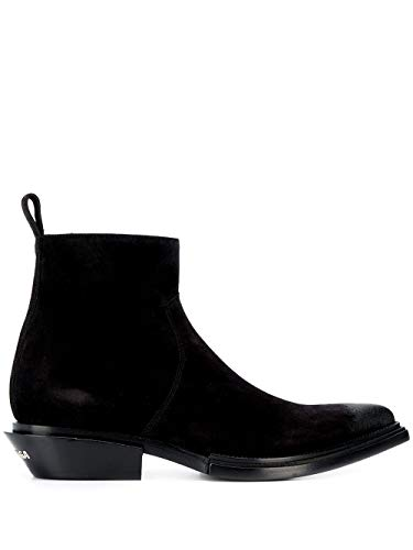 Balenciaga Luxury Fashion Mens 579736WA7301000 Black Ankle Boots | Fall Winter 19